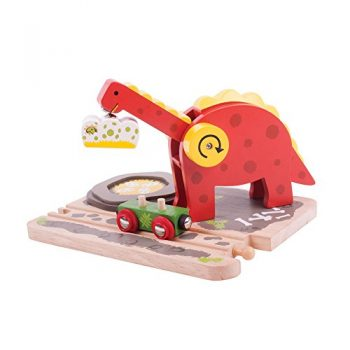 Bigjigs Rail Gru Dino 0
