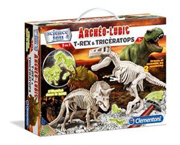 Clementoni A1503085 Gioco Scientifico Trex Triceratops 0