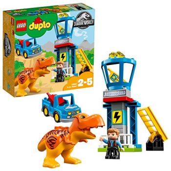 Duplo Jurassic World Set Mattoncini La Torre Del T Rex 10880 0