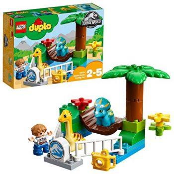 Duplo Jurassic World Set Mattoncini Lo Zoo Dei Giganti Gentili 10879 0