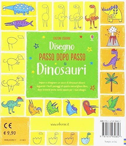 Dinosauri Disegno Passo Dopo Passo Ediz Illustrata Copertina Flessibile 27 Apr 2017 0 0