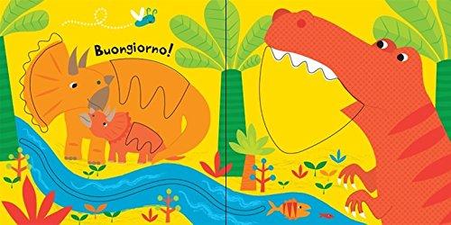 Dinosauri Trascina E Scopri Primi Libri Tattili Ediz Illustrata Cartonato 15 Set 2016 0 2