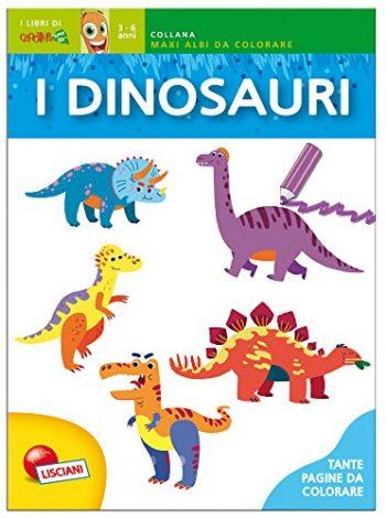 Dinosauri Colorati Leggi Le Filastrocche E Colora Copertina Flessibile 1 Gen 2015 0