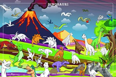 Dinosauri Da Colorare Poster 0