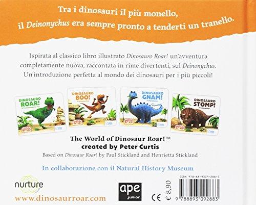Dinosauro Boo Il Deinonychus Il Mondo Del Dinosauro Roar Cartonato 7 Giu 2018 0 0