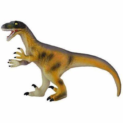 Grande 559cm 56cm Morbido Peluche Gomma Dinosauro Velociraptor Gioco Giocattolo 0