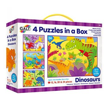 Galt Toys 4 Puzzle In Una Scatola Dinosauri 0