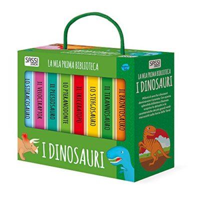 I Dinosauri La Mia Prima Biblioteca Cartonato 11 Mag 2017 0