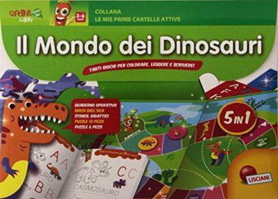 I Dinosauri Tante Attivit Da Portare Sempre Con Te Copertina Flessibile 1 Gen 2015 0