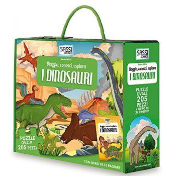 I Dinosauri Viaggia Conosci Esplora Libro Puzzle Ediz Illustrata Con Puzzle Turtleback 9 Nov 2017 0