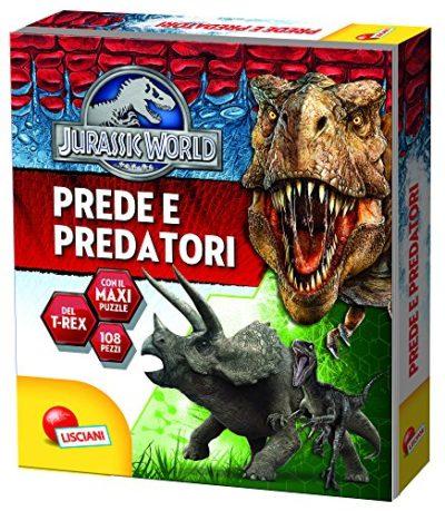 I Grandi Predatori Jurassic World Ediz Illustrata Con Puzzle Turtleback 31 Gen 2016 0