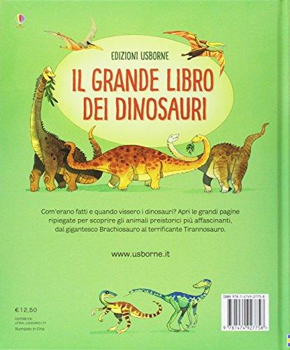 Il Grande Libro Dei Dinosauri Ediz Illustrata Copertina Flessibile 1 Ago 2017 0 0
