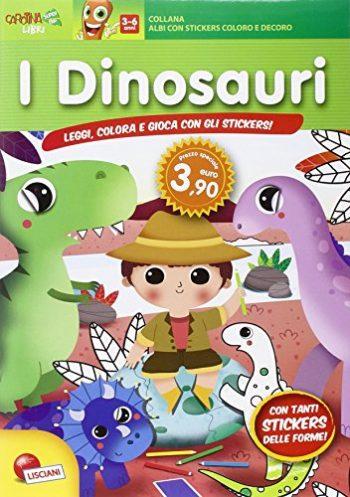 Il Mondo Dei Dinosauri Con Adesivi Copertina Flessibile 1 Gen 2015 0