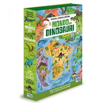Il Mondo Dei Dinosauri Viaggia Conosci Esplora Ediz A Colori Con Puzzle Turtleback 15 Giu 2017 0