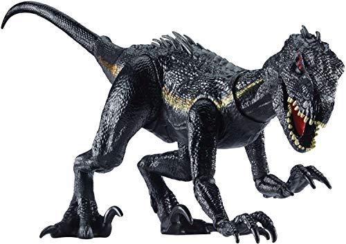 Jurassic World Indoraptor Dinosauro Protagonista Del Film Colore Grigio Scuro 165 Cm Fvw27 0 0