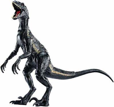 Jurassic World Indoraptor Dinosauro Protagonista Del Film Colore Grigio Scuro 165 Cm Fvw27 0