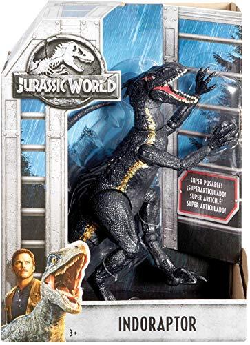 Jurassic World Indoraptor Dinosauro Protagonista Del Film Colore Grigio Scuro 165 Cm Fvw27 0 5