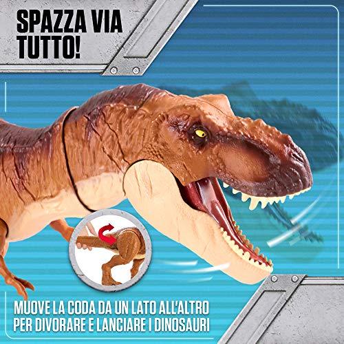 Jurassic World T Rex Morso Letale Dinosauro Con Suoni Protagonista Del Film Fmy70 0 4