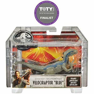 Jurassic World Velociraptor Blue Dinosauro Del Film Con 5 Punti Di Articolazione 10 Cm Fpf12 0