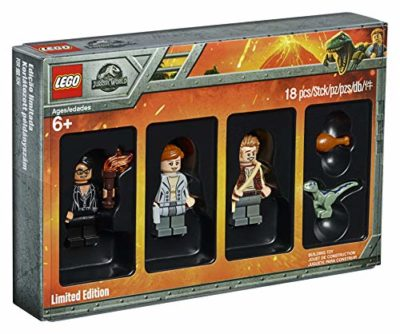 Lego 5005255 Jurassic World Limited Edition Minifigures Set Fallen Kingdom Movie Bambino Blu Dinosauro Giocattoli Da Collezione Fun Gift 0