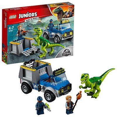 Lego Juniors Set Mattoncini Camion Per Il Soccorso Di Velociraptor 10757 0