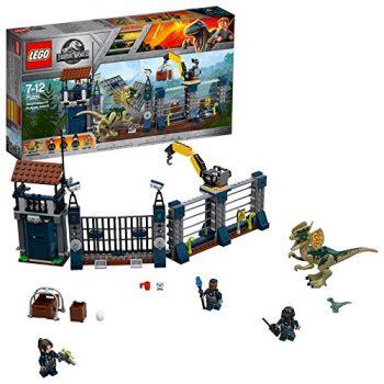 Lego Jurassic World Angriff Des Dilophosaurus 75931 0