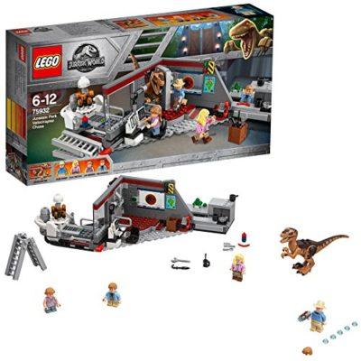 Lego Jurassic World Jagd Auf Den Velociraptor 75932 0