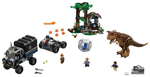 Lego Jurassic World Set Mattoncini Fuga Sulla Girosfera Del Carnotaurus 75929 0 0