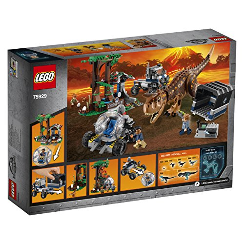 Lego Jurassic World Set Mattoncini Fuga Sulla Girosfera Del Carnotaurus 75929 0 2