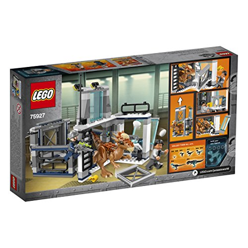 Lego Jurassic World Set Mattoncini Levasione Dello Stygimoloch 75927 0 2