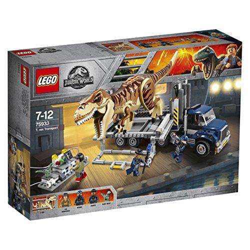 Lego Jurassic World T Rex Transport 75933 T Rex Toys 0 0