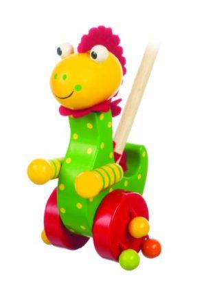 Letterbox Dinosauro Giocattolo Da Spingere 0