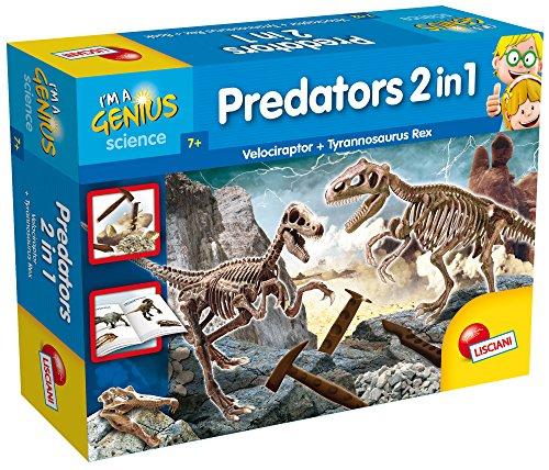 Lisciani Giochi 56408 Im A Genius Predators 2 In 1 0