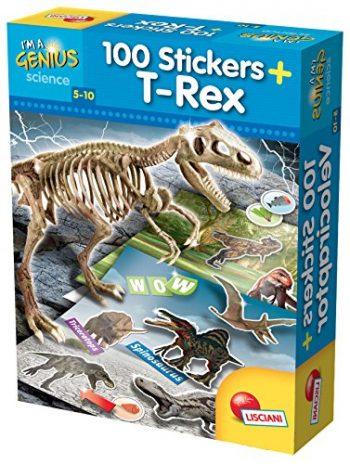 Lisciani Giochi 59775 Gioco Im A Genius Dino 100 Stickers T Tex 0