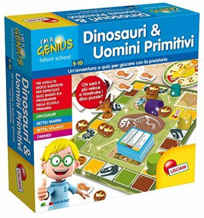 Lisciani Giochi Piccolo Genio Talent School Dinosauri E Uomini Primitivi 48922 0