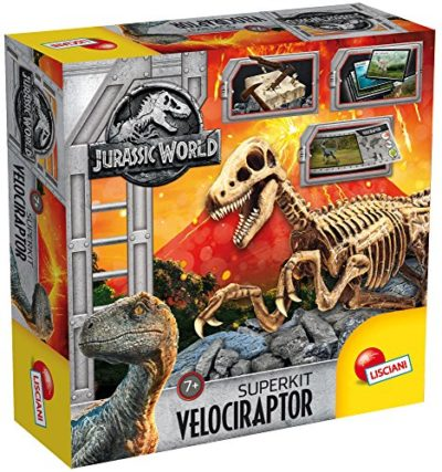 Liscianigiochi 68227 Jurassic World Super Kit Velociraptor 0