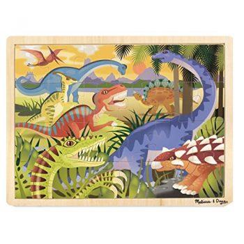 Melissa Doug 19066 Puzzle In Legno Dinosauri 0