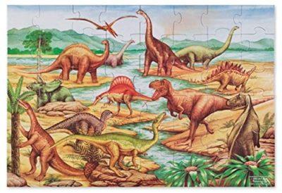 Melissa And Doug Puzzle Da Pavimento 48 Pezzi Dinosauri 0