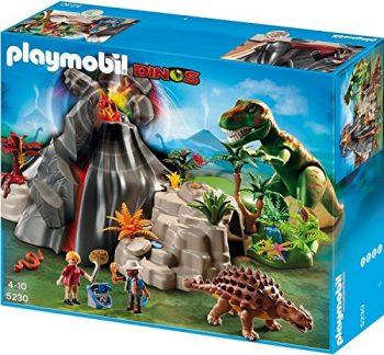 Playmobil 5230 Vulcano Con Saicania E T Rex 0