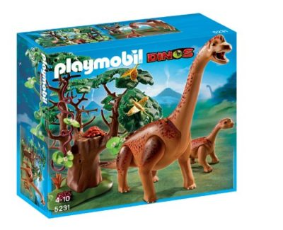 Playmobil 5231 Branchiosauro Con Cucciolo 0