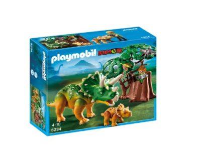 Playmobil 5234 Triceratopo Con Cucciolo 0
