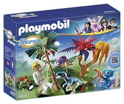 Playmobil 6687 Isola Perduta Con Alien E Raptor 0