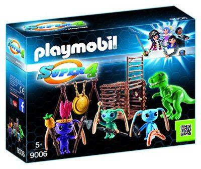 Playmobil 9006 Guerrieri Alien Con Trappola Per T Rex Multicolore 0