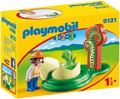 Playmobil 9121 Ragazza Con Uovo Di Dinosauro Multicolore 0