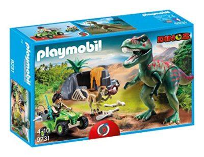 Playmobil 9231 Tirannosauro Rex Con Esploratore In Quad 0