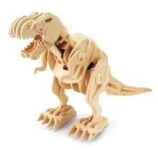 Robotime Kit 85pz Dinosauro Piccolo Legno T Rex Rt 9108 0