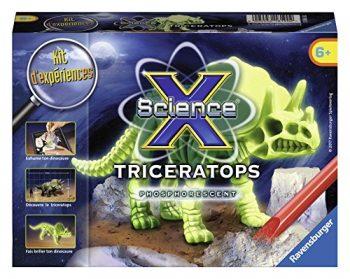 Ravensburger 18198 Mini Triceratops Fosforescente 0