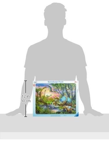 Ravensburger 06633 Dinosauri Puzzle Incorniciato 45 Pezzi 0 2