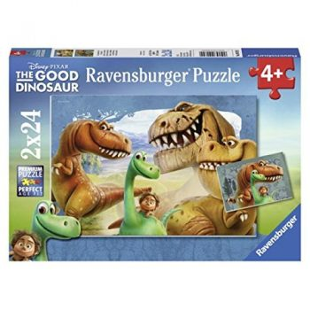Ravensburger 09079 The Good Dinosaurs Puzzle 2x24 Pezzi 0