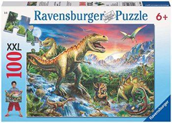 Ravensburger 10665 Lera Dei Dinosauri 100 Pezzi 0